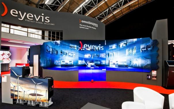 Ventuz con tecnologia Eyevis en ISE 2015