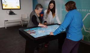 Virtualware mesa interactiva para Adembi