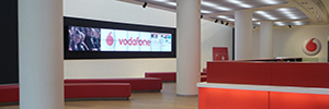 Vodafone headquarters in Milan makes your AV equipment installed AMX