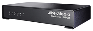 AVerMedia AVerCaster HD Duet Plus: video dalla trasmissione di rete IP o HDMI