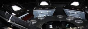 El primer sistema de proyección Open 3D del mundo opera ya en el COU del Montsec