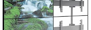 Los nuevos soportes Chief Fusion facilitan la instalación de las pantallas