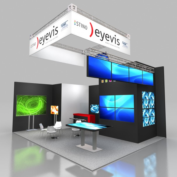 Eyevis y Stino en Prolight & Sound 2015