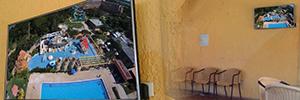 Club Aguasal instala una red de digital signage para informar y entretener a socios y visitantes