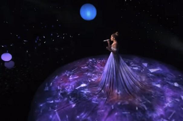 Jennifer Lopez vestido-mapping