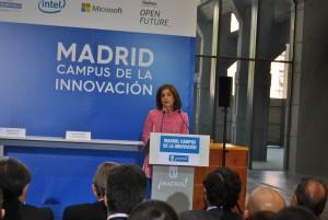 Madrid Campus Innovacion Ana Botella