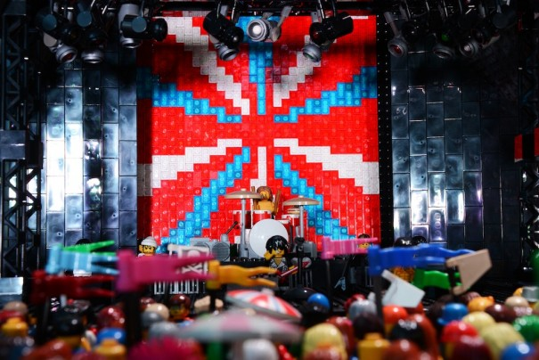 Martin Audio Lego Glastonbury