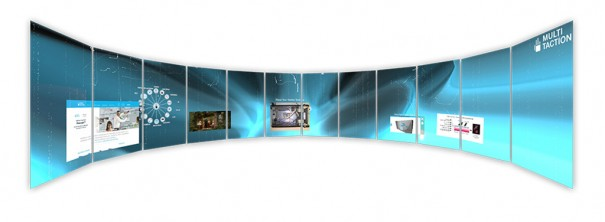 MultiTaction iWall Curved