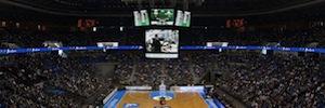 RPG instala una pantalla led perimetral en la sede deportiva del Unicaja Málaga