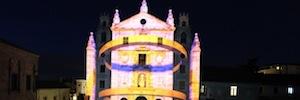 'Teresa ilumina Ávila' conmemora con un videomapping el V centenario de su nacimiento