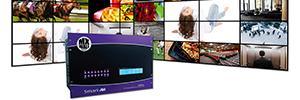 SmartAVI MXWall: la fusión de un procesador de videowall y controlador de digital signage