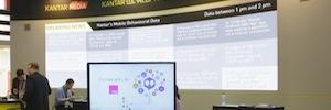 Sono desplegó más de trescientas pantallas y sistemas de audio en MWC 2015