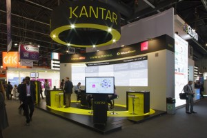 Sono stand Kantar Media MWC2015