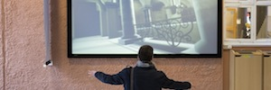 Proyección láser e inmersiva para fomentar la comunicación en los campus universitarios