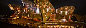'Visions of Vienna': artistic projection accompanied by the Sydney Symphony Orchestra
