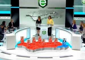 TVE Wahlen andalusische AR