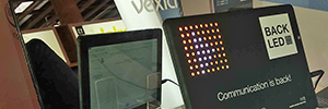 Vexia Back Led breaks the standards of communication in classrooms and conference rooms
