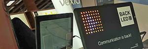 Vexia Back Led rompe los estándares de comunicación en aulas y salas de conferencias