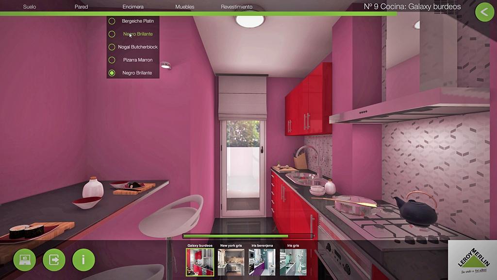 Leroy Merlin Cocinas Catalogo 2014 | La Realidad Virtual Y Oculus Rift Permiten Elegir La Cocina De Tus