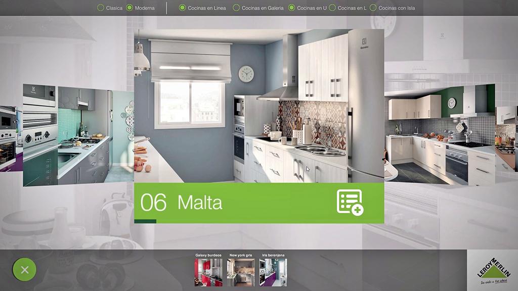 la r alit virtuelle rift oculus et vous permettent de choisir la cuisine de vos r ves leroy. Black Bedroom Furniture Sets. Home Design Ideas