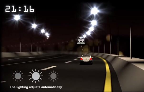 CGI IBOR iluminacion carretera Belgica