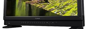 Canon incorpora a su gama de monitores profesionales 4K el modelo DP-V2410