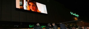 El Corte Inglés and Daktronics extend display Led Full HD technology to the center of Malaga