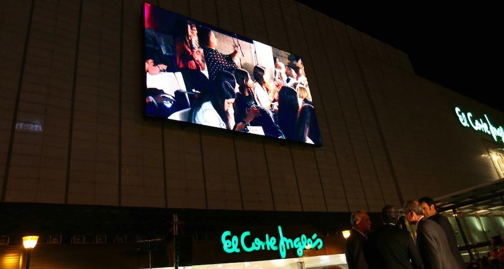 27d91592de7 El Corte Inglés y Daktronics extienden la tecnología de visualización Led  Full HD al centro de Málaga