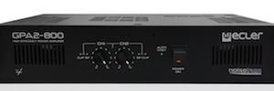 Ecler inicia la comercialización de su nuevo amplificador estéreo GPA2-800
