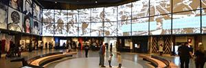 El Museo canadiense de Derechos Humanos rompe moldes con su vanguardista instalación AV