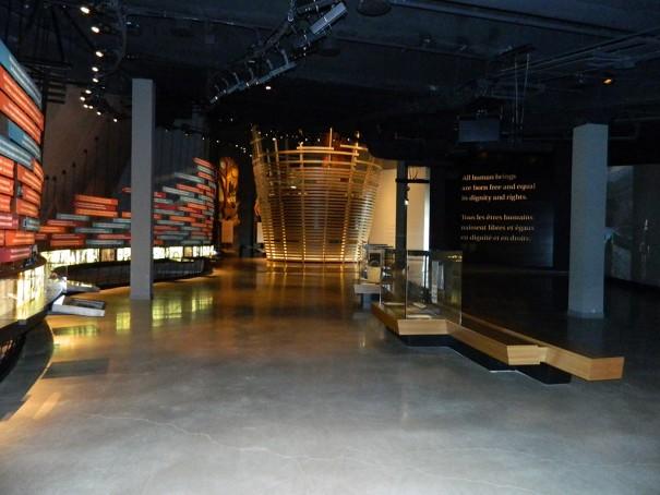 Electrosonic Museo Canada Derechos Humanos