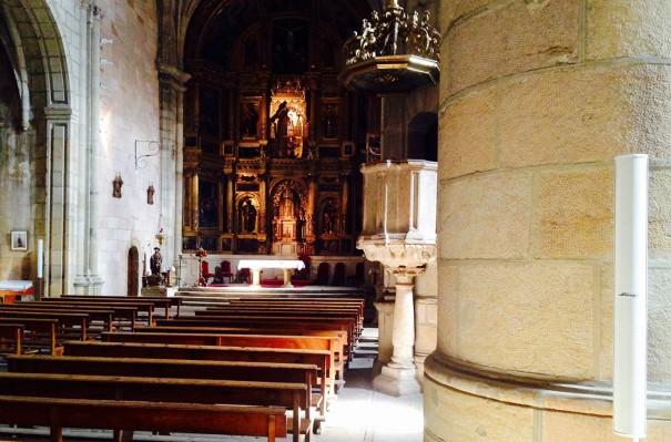 Gaplasa Iglesia de Santa María del Pino en Vinuesa