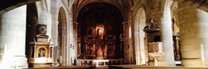The Santa Maria del Pi in Vinuesa renews its sound system under the direction of Gaplasa