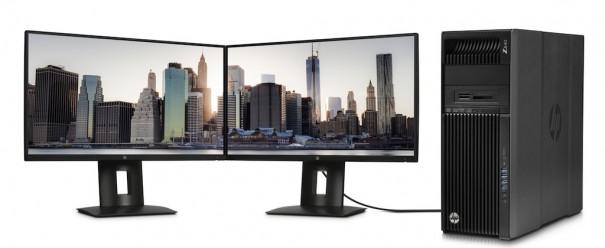 HP Z25n con Z Desktop
