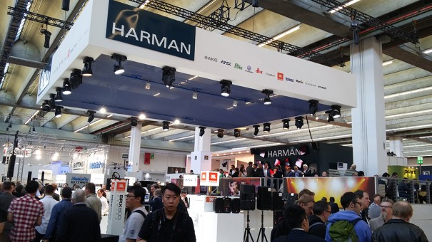 Harman en Prolight Sound 2015