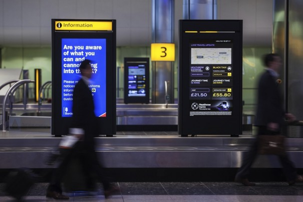 JCDecaux Heathrow Express