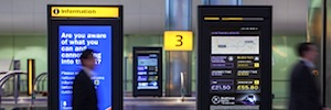 Heathrow to Central London fast and cheap with help of DooH systems