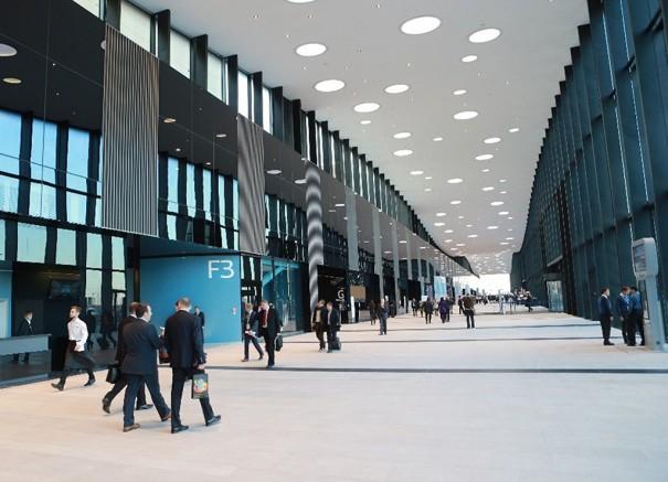 Megafonia Bosch para Expoforum San Petersburgo