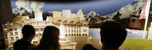 Swiss Chocolate Adventure offers a sweet surround projection technology Panasonic