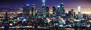 Los Ángeles gestiona su iluminación urbana Led con Philips CityTouch
