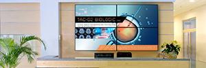 Planar RA-Series: pantallas LCD para configuraciones de videowall en aplicaciones de digital signage