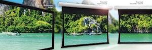 Charmex ofrece proyecciones uniformes en 4K y UHD con las pantallas Projecta HD Progressive