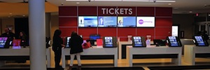 AMC Theatres mejora la experiencia del cliente con los kioscos digitales Pyramid polytouch