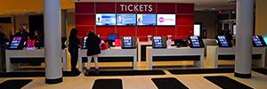 AMC Theatres optimiza en sus cines la venta de entradas con los kioscos digitales Polytouch