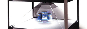 TD Maverick distributes in Europe those systems of vision holographic in 3D from Realfiction