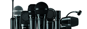 Shure high PG: microphones for musical events live and study