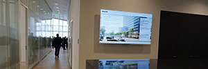 Building The Edge of Deloitte is equipped with visual technology and Sony security