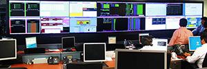 Banco Santander instala en su sede central de Chile un videowall de Wavetec