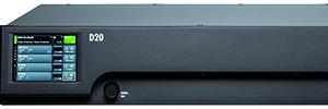 D&b D20: amplificador de cuatro canales con potencia DSP y funciones de control remoto