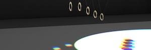 Art+Com crea una instalación cinética de luz y sonido de gran dimensión para SonarPlanta 2015